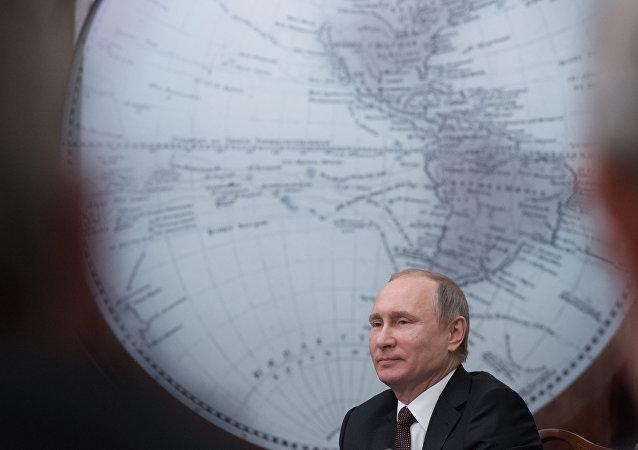 الرئيس بوتين يحضر اجتماعا للجمعية الجغرافية الروسية