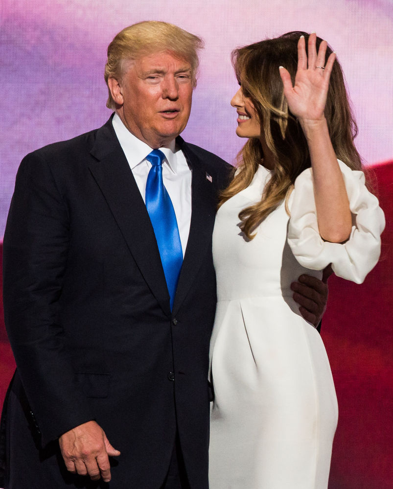 السيدة الأمريكية الأولى ميلانيا ترامب في واشنطن