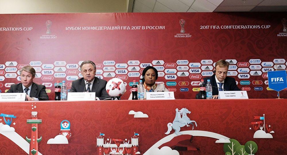 """الأمين العام لـ""""الفيفا"""": مستوى عال من الأمن سيرافق فعاليات كأس العالم للقارات2017"""