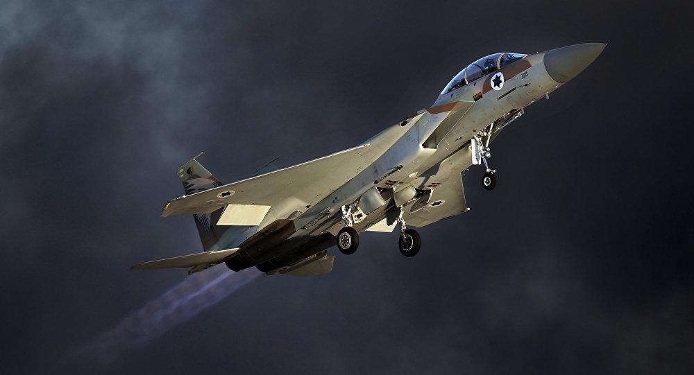 مقاتلة إسرائيلية من طراز إف-15