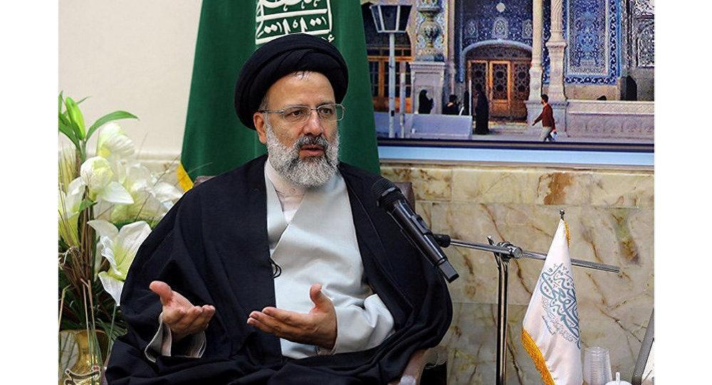 مرشح الرئاسة الإيراني إبراهيم رئيسي