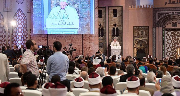 بابا الفاتيكان في الأزهر - البابا فرنسيس