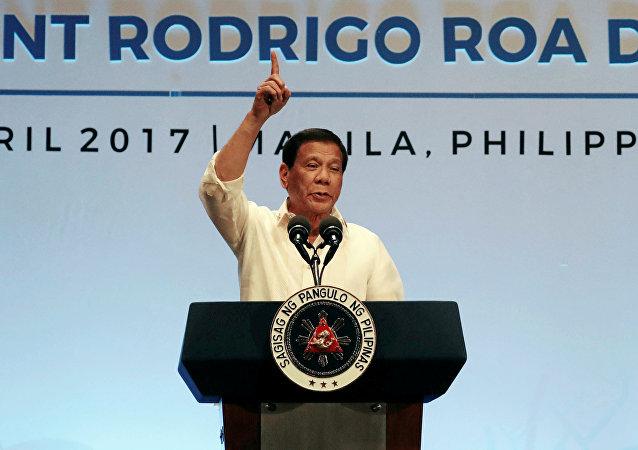 رئيس الفلبين رودريغو دوتيرت