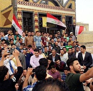 أبناء موطن الثيران المجنحة في فينيسا العراق