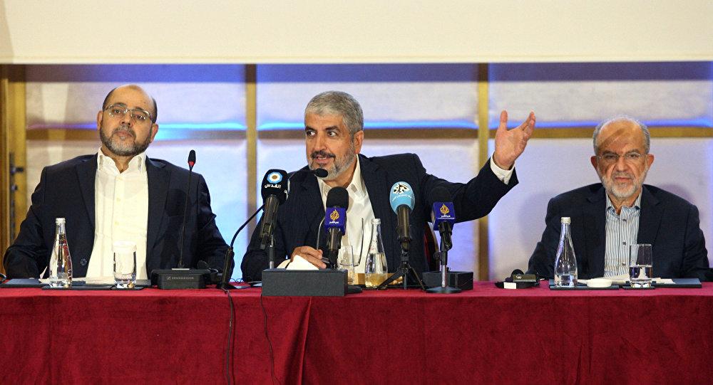 مشعل يعلن وثيقة حماس