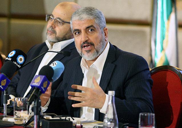 رئيس المكتب السياسي لحماس يشرح تفاصيل الوثيقة