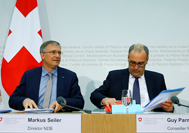 ماركوس زايلر مدير الاستخبارات السويسرية