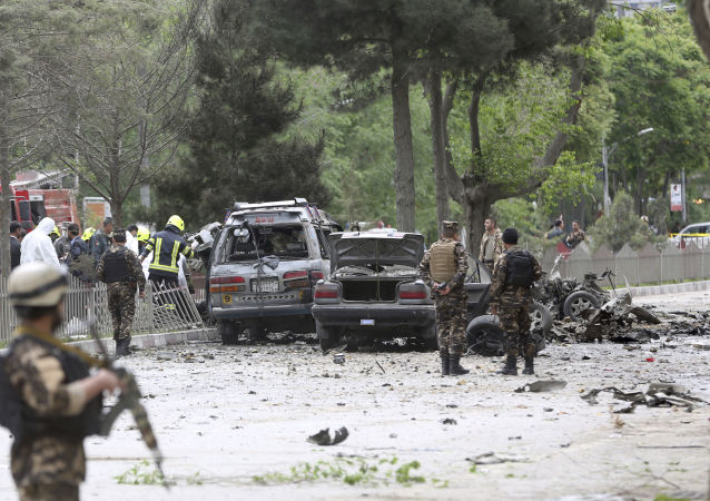 انفجار كبير أفغانستان