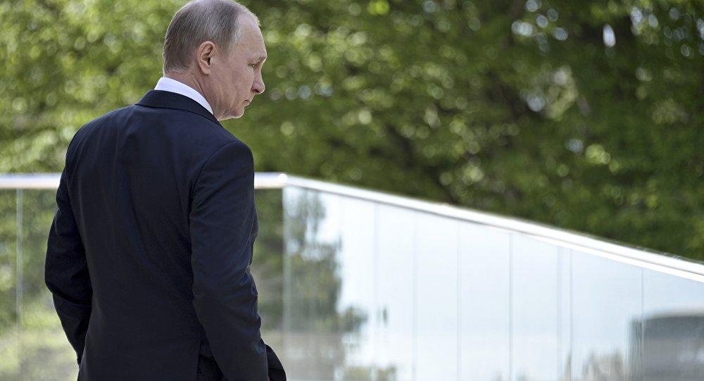 الرئيس الروسي فلاديمير بوتين في مدينة سوتشي، 2 مايو/ آيار 2017