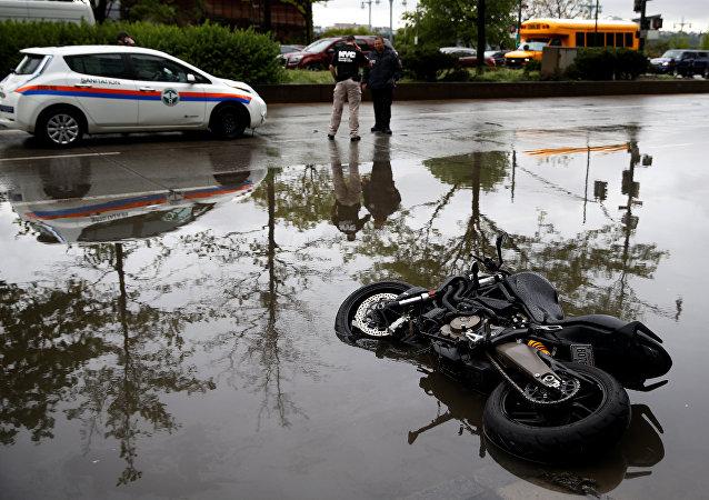 أمطار غزيرة في نيويورك