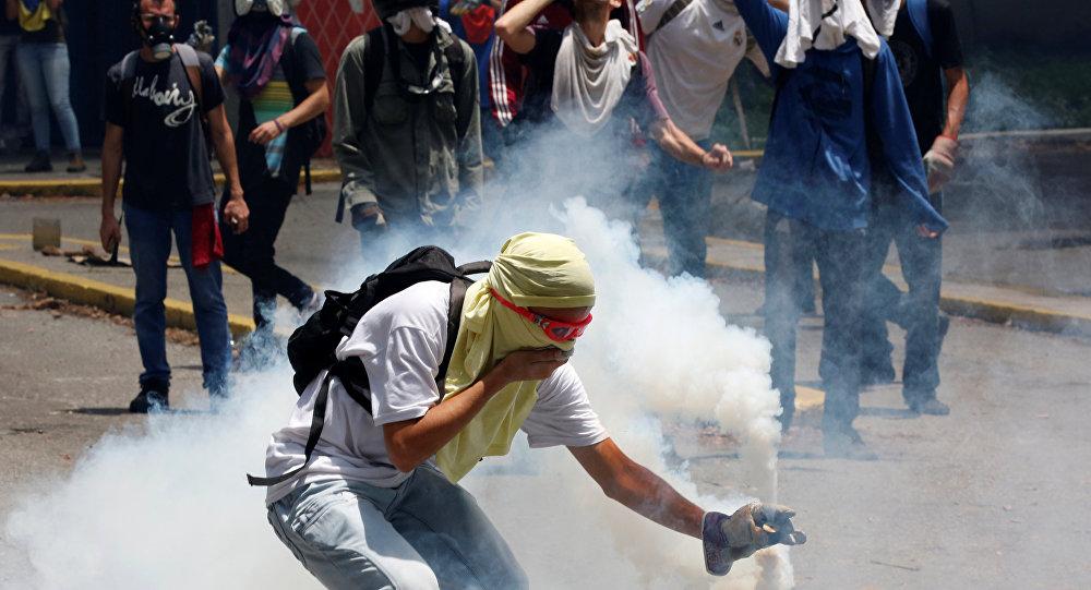 احتجاجات فنزويلا
