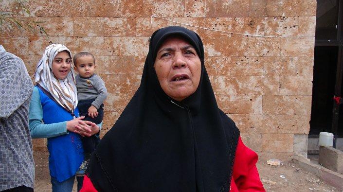 أهالي الشهداء من المهجرين