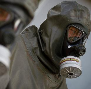 التخلص من الأسلحة الكيميائية