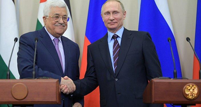 لقاء بوتين وعباس في سوتشي