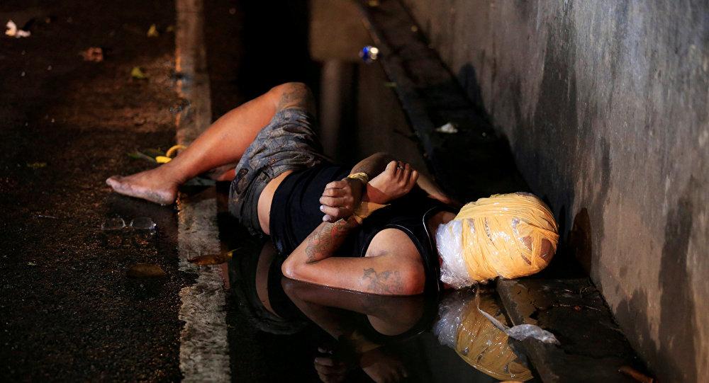 جثة مجهولة الهوية في الفلبين