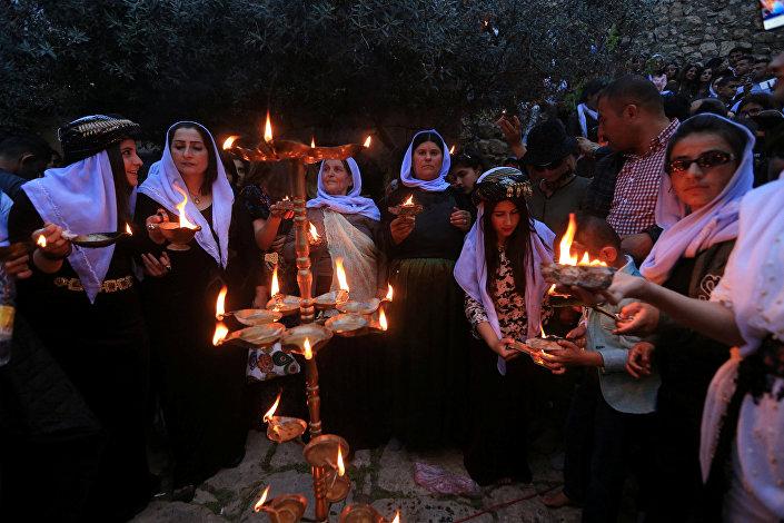 احتفالات السنة الإيزيدية الجديدة