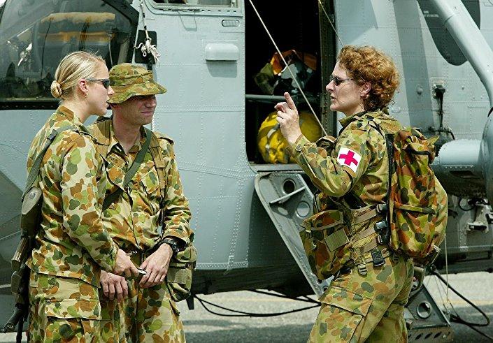 المجندات الأستراليات