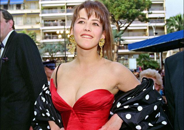 الممثلة صوفي مارسو في مهرجان كان السينمائي