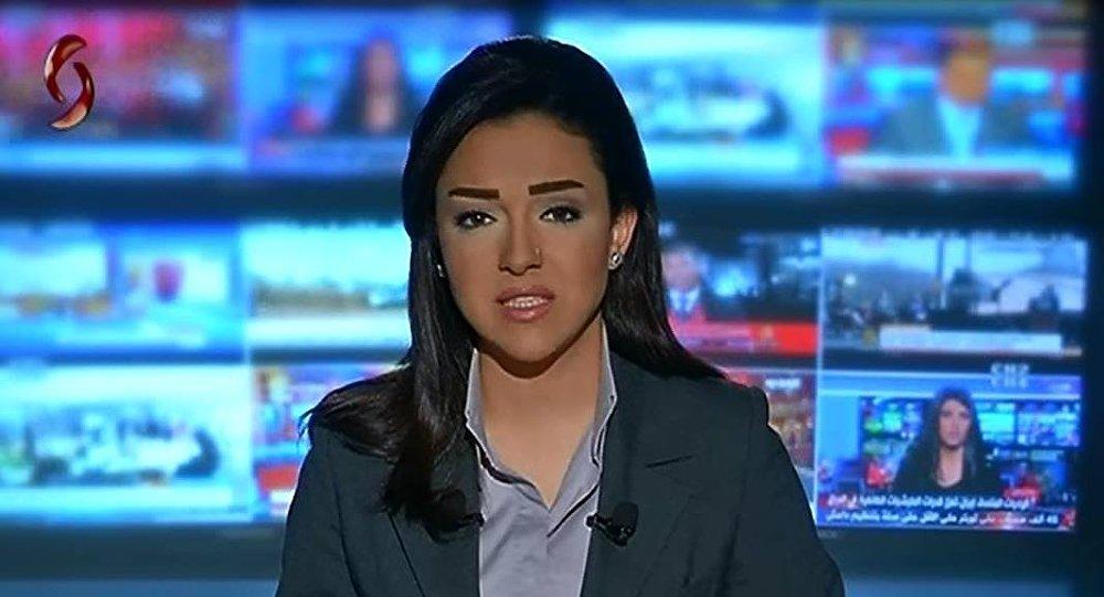 مراسلة الإخبارية السورية ربى الحجلي
