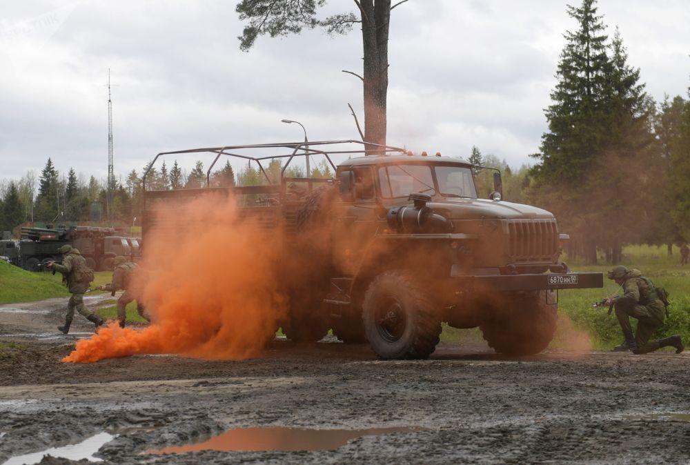 Ракетные учения в Московской области