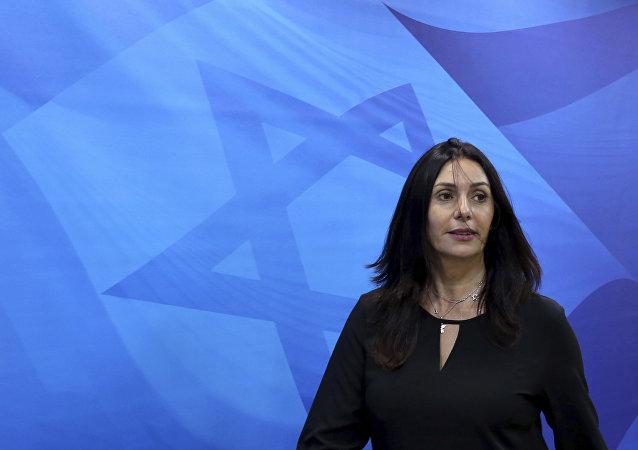 وزيرة الثقافة الاسرائيلية ميري ريغف