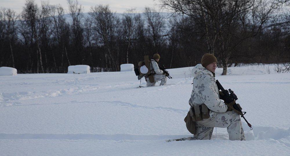 الجنود الأمريكيون في النرويج