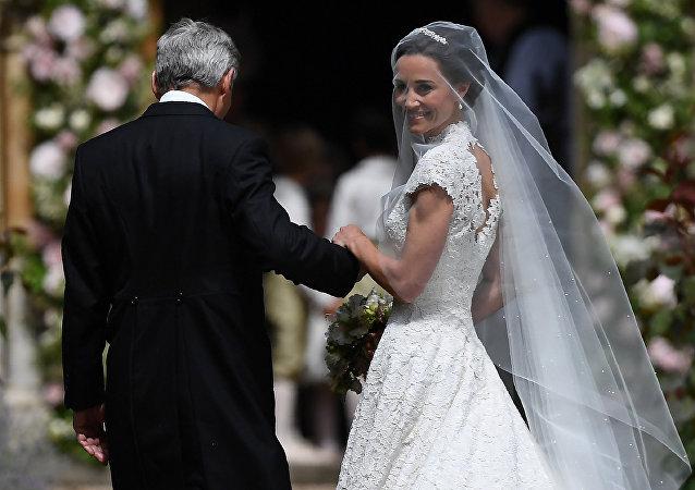 حفل زفاف شقيقة الأميرة كيت ميدلتون