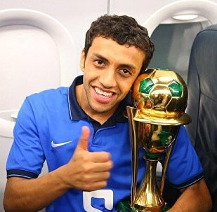 محمد الشلهوب لاعب الهلال السعودي