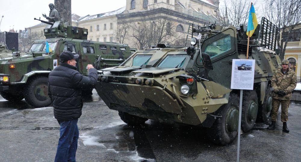 المدرعة الأوكرانية بي تي إر - 4