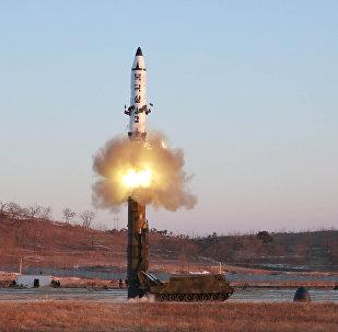 إطلاق الصاروخ الكوري