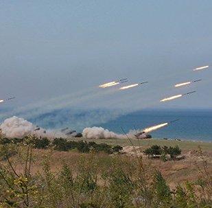 قصف الحدود الكورية