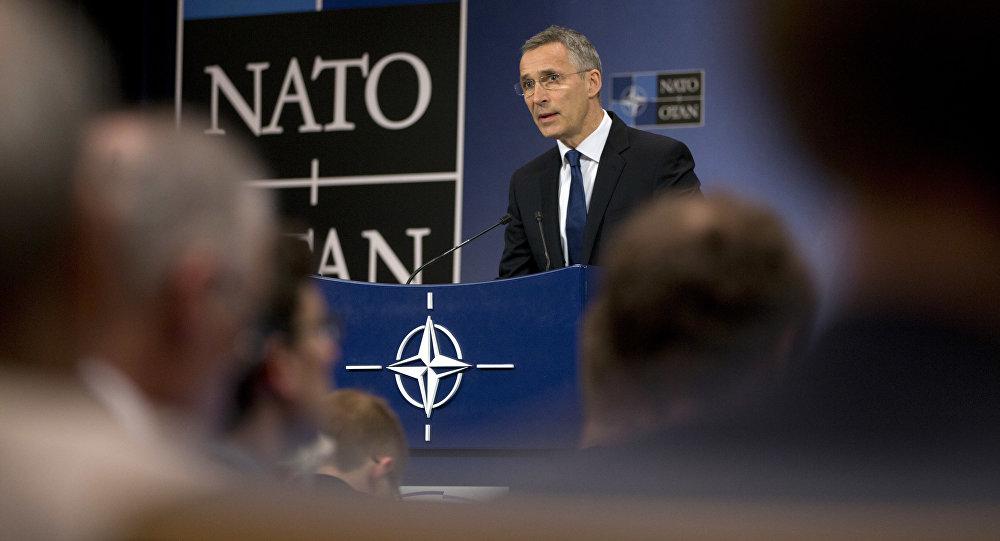 الأمين العام لحلف الناتو ينس ستولتنبرغ، بلجيكا 24 مايو/ آيار 2017