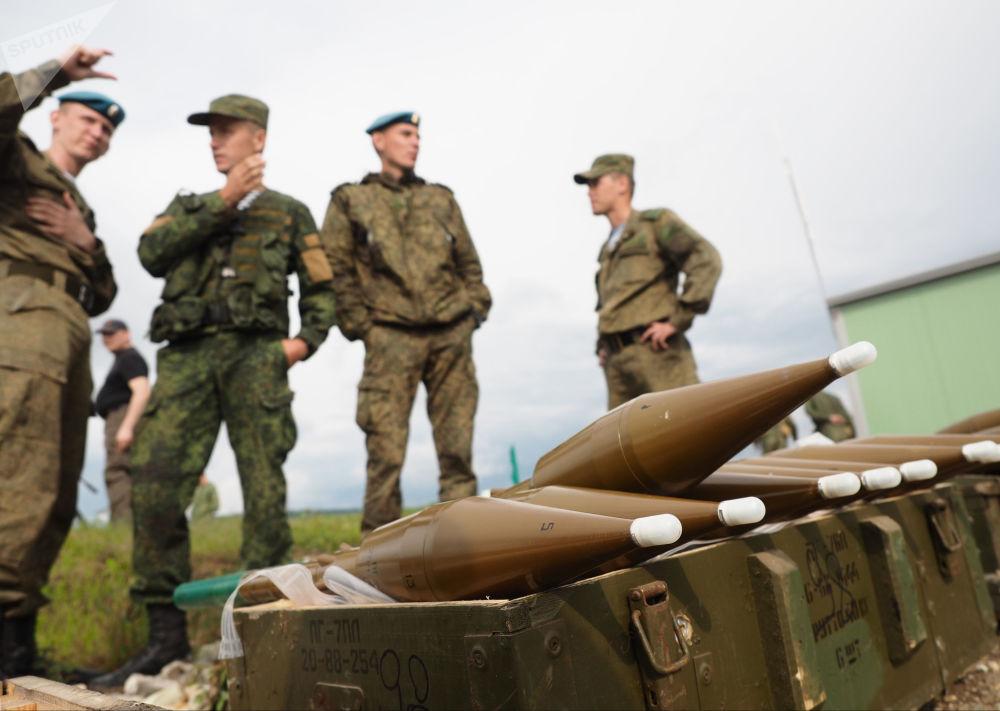 مسابقة فريق الإنزال-2017 في الحقل العسكري راييفسكي في نوفوروسييسك، روسيا