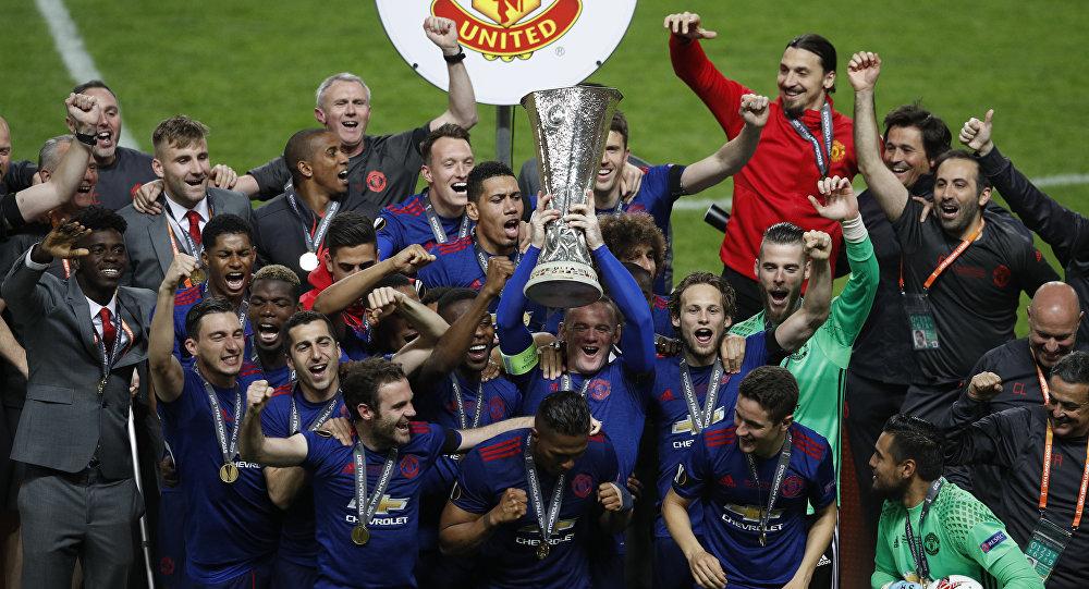 مانشستر يونايتد يحرز لقب الدوري الأوروبي