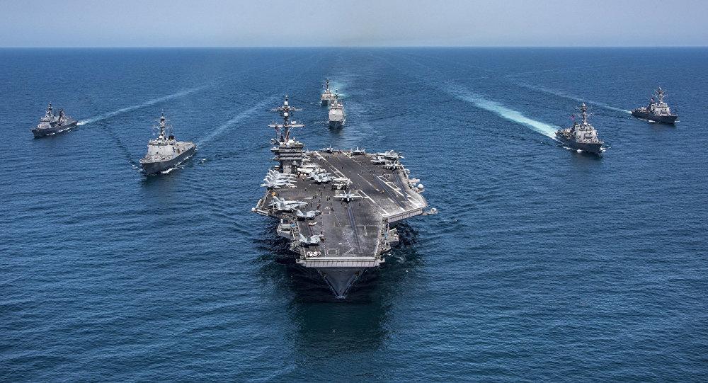 قوات البحرية الأمريكية في المحيط الهادي