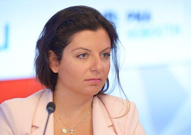 مارغريتا سيمونيان، رئيسة تحرير وكالة سبوتنيك وقناة RT التلفزيونية