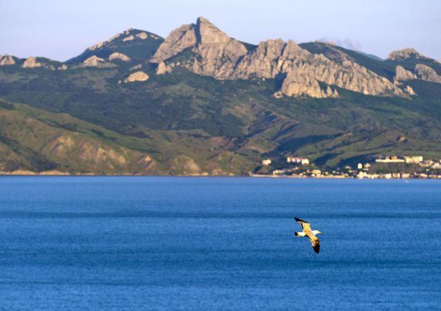 المحمية الطبيعية كاراداغ في شبه جزيرة القرم