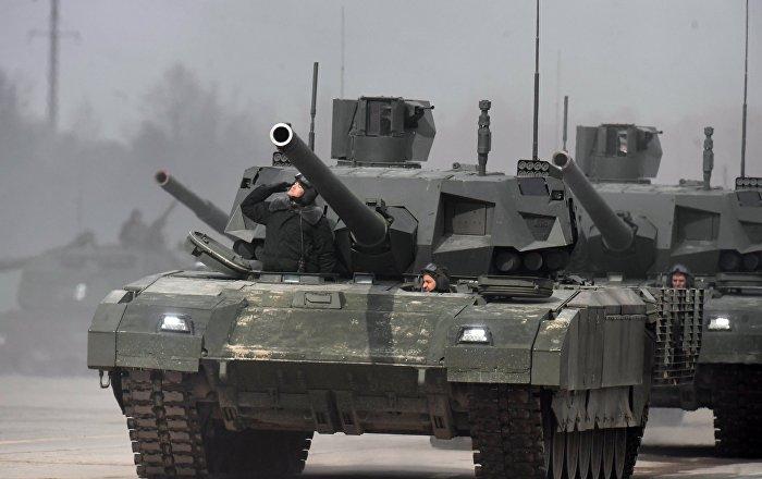 """إعداد دبابة """"أرماتا"""" للتصدير"""