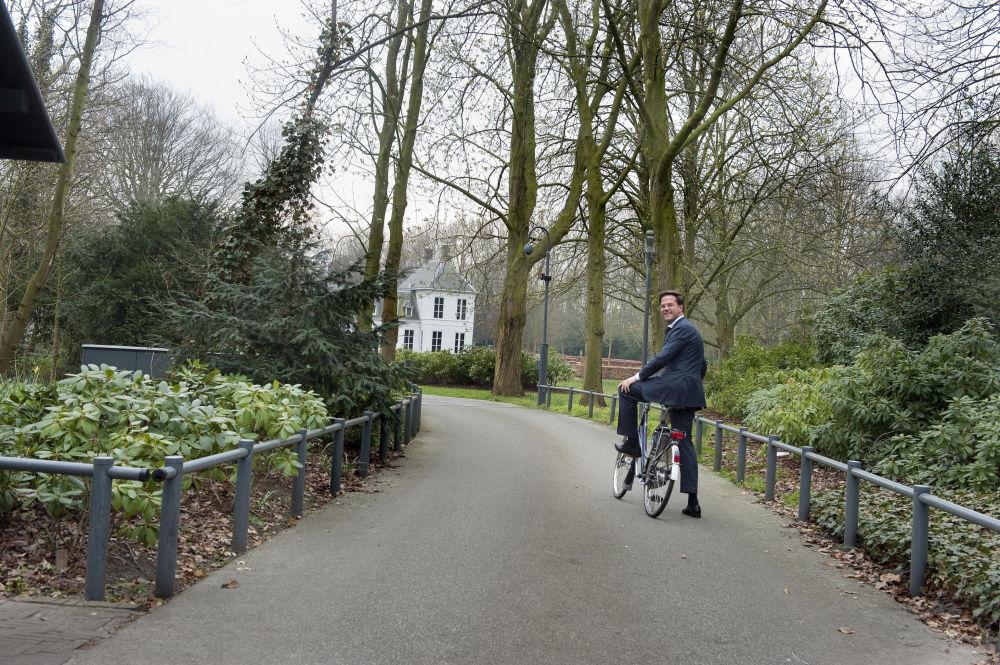 رئيس الوزراء الهولندي مارك روت في لاهاي، هولندا 29 مارس/ آذار 2012