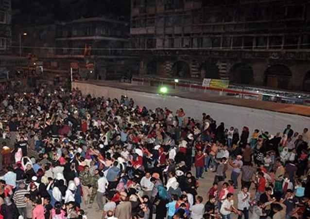 """مهرجان التسوق """"رمضان كريم والعيد 3"""" بحمص.. تفعيل للحراك التجاري"""