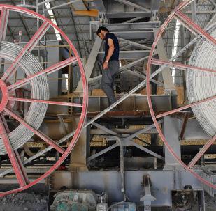 مصنع اسمنت في طرطوس، سوريا
