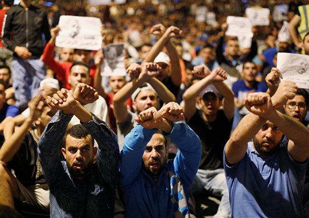 مظاهرات في المغرب