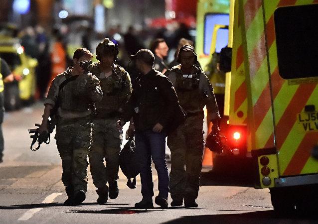 الشرطة في بريطانيا