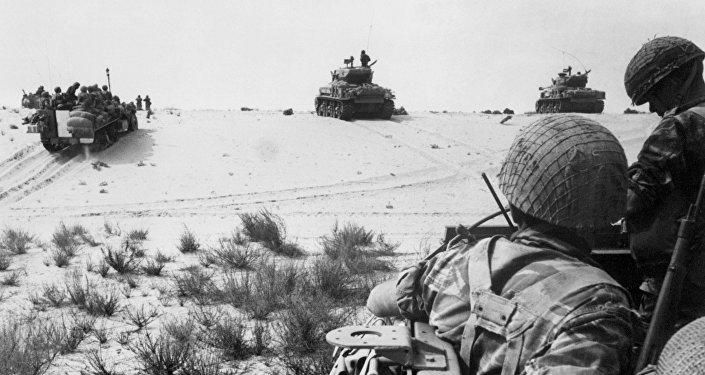 قوات الجيش المصري في صحراء سيناء، 5 يونيو/ حزيران 1967