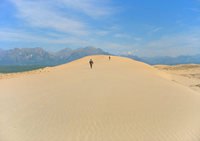 صحراء تشارسكيي بيسكي في زابايكالسكي كراي