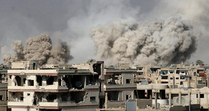 تحالف عسكرى داعم لبشار الأسد يهدد بضرب مواقع أمريكية فى دمشق