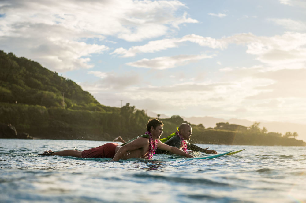 ركوب الأمواج في هاواي