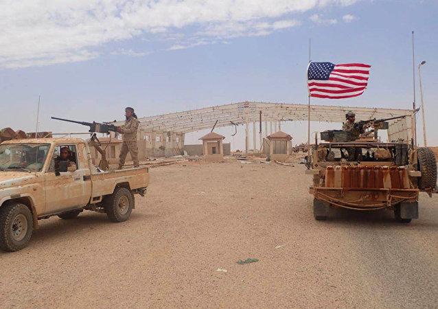 منطقة التنف، سوريا