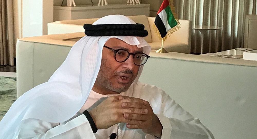 وزير خارجية الإمارات أنور قرقاش
