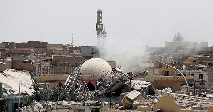 المعركة ضد داعش غرب الموصل
